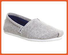 71cb756d46da Toms Women s Classic Light Grey Casual Shoe 5 Women US - Sneakers for women  (