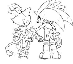 """49 :""""are you serious?"""" Charmy asked skeptically. """"Of course. Blaze said. If she needs to stay hidden for some reason, we won't blow her cover!"""" """"That's a relief."""" Charmy sighed. """"Thank you."""" Maria smiled. """"Don't mention it."""" Silver said. """"They were quiet a moment.  """"So..."""" Blaze began. She glanced at Silver, """"why are you hiding anyway?"""" """"Well umm..."""" Maria hesitated, """"Espio's helping me avoid some people who want to take me."""" Silver and Blaze glanced at each other."""