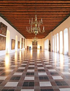 Tour the Maritime Museum of Denmark and Kronborg Castle--a long dramatic hall inside the castle offers a good example of grand Renaissance interior layouts.