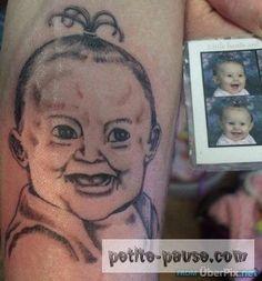 Ces personnes ce sont fait tatouer au grès de leur inspiration... mais ... le tatoueurs est débutant et la c'est la catastrophe la preuve en image.