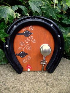 Lucky Horse Shoe Faery Door  Witchcraft Magic Wicca by WytchenWood