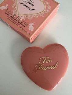 too faced love flush blush in baby love