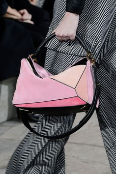 Under Jonathan Anderson's savvy watch Loewe has reemerged as an It bag purveyor and the Fall 2015 collection had a stellar new one to offer.   - HarpersBAZAAR.com