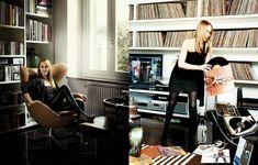 PRISCILLA PARIZEAU: Interiors: Frida Giannini Deco, Vinyl Records, Challenges, Photo And Video, Interiors, Collection, Google, Musik, Decor
