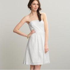 Gap White Eyelet Dress EUC. Only worn once for Easter. GAP Dresses Strapless