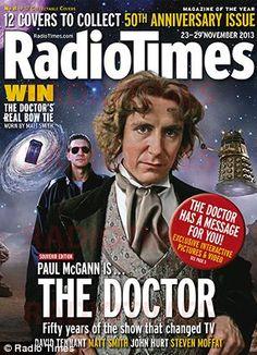 Paul McGann - Doctor Who - Radio Times
