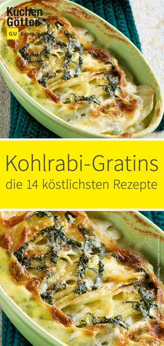 Kohlrabi and potato gratin- Kohlrabi-Kartoffel-Gratin are easy to prepare and very fast on the table. With our delicious Kohlrabi potato gratin you get all fed up and it is so you would like to have another look! Grilling Recipes, Veggie Recipes, Vegetarian Recipes, Pizza Recipes, Snacks Recipes, Keto Snacks, Cooking Recipes, Kohlrabi Gratin, Easy Dinner Recipes