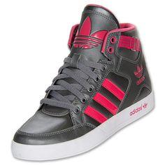 Women's adidas Originals Hardcourt Hi Casual Shoes athletic sneakers GREY Baskets, Shoe Sites, Nike Roshe Run, Nike Shoes Outlet, Casual Shoes, Women's Casual, Cute Shoes, Adidas Women, Nike Free