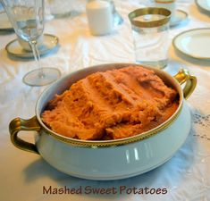 Mashed Sweet Potatoes | Dr. Jean Layton-Gluten-Free Doctor