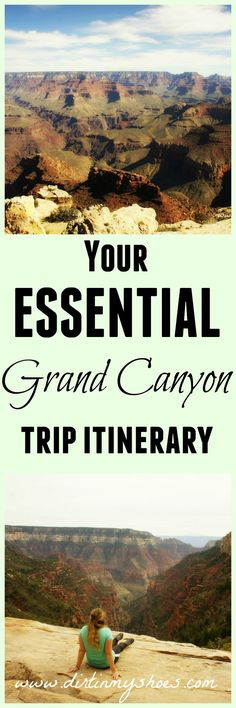 See the best sights, make the most of your time, and avoid the crowds with this Grand Canyon Itinerary -- written by a former park ranger! Ways To Travel, Best Places To Travel, Places To Go, Travel Tips, Travel Goals, Travel Hacks, Travel Ideas, Grand Canyon National Park, National Parks