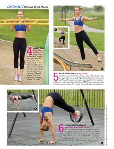Playground workout