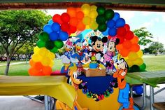 Mickey Mouse Clubhouse Birthday Party Ideas | Photo 10 of 10 | Catch My Party