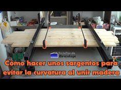 Cómo hacer unos sargentos para evitar la curvatura al unir madera