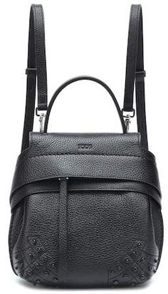 3c727f3dc3a Tod s Stitch-Detailed Double T Leather Messenger Bag   TOD S ...