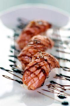 salmão...