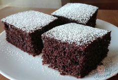 Šťavnatý kakaový koláček s kefírem Kefir, Tiramisu, Great Recipes, Nom Nom, Cooking Recipes, Sweets, Cake, Food, Cook Books