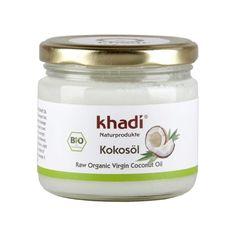 Ulei de cocos virgin bio Khadi Cod produs:  KHA72 Khadi ulei de cocos virgin certificat biologic pentru ten, corp si par. Hidrateaza pielea, previne caderea parului si poate fi folosit ca masca de par hidratanta pentru parul vopsit, tratat chimic, deteriorat sau uscat. Raw Coconut Oil, Organic Oil, Bio