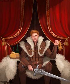 King Alistair Theirin by Refinition on DeviantArt