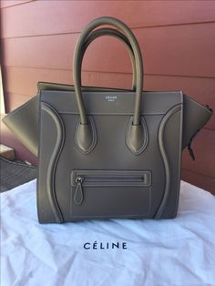 c09d2307c2d Celine Mini Luggage tote www.Luxurysnob.com