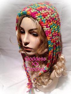 Goddess )O( Crochet: Non Pixie Hood - free crochet non pointy hood pattern. Chunky yarn.
