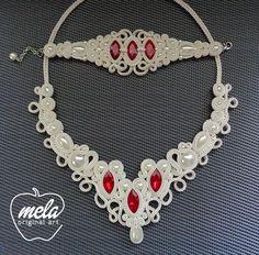 . Soutache Bracelet, Soutache Pendant, Soutache Jewelry, Wire Jewelry, Boho Jewelry, Jewelry Box, Jewelery, Shibori, Crochet Necklace