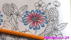 Colorindo Blomster Mandala by Maria Trolle - Temp. 02 Ep. 01