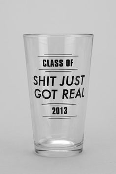 Amaze. Graduation Pint Glass