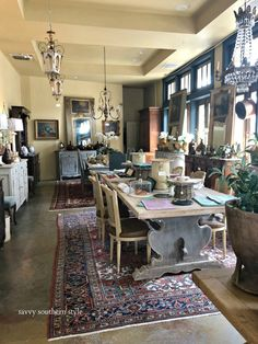 Aubergine Antiques in Fairhope, Alabama Savvy Southern Style : Shopping French Antiques in the South (Atlanta area)