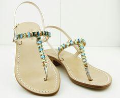 Capri sandals  hand made. Dea Sandals  Capri Summer collection Shop online shipping  worldwide www.deasandals.com