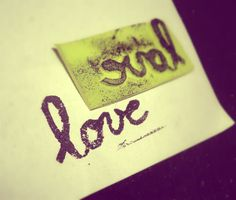 love-rubber-stamp