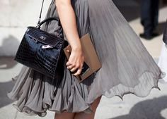 Lovely! Great color and like it with the classic purse