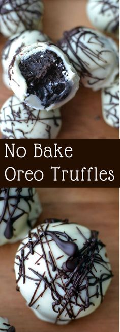 Whip these savory Oreo truffles up in a snap, with just 4 ingredients needed and no baking necessary! Whip these savory Oreo truffles up in a snap, with just 4 ingredients needed and no baking necessary! Easy Desserts, Delicious Desserts, Yummy Food, Healthy Desserts, Oreo Desserts, Tasty, Healthy Recipes, Dessert Oreo, Oreo Treats