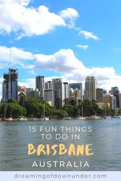 Add these top Brisbane attractions to your Brisbane bucket list! Includes Brisbane city cafes and nightlife, South Bank, art galleris and more. #brisbane #australia #travel Brisbane River, Brisbane City, Coast Australia, Queensland Australia, Australia Travel, Brisbane Attractions, Things To Do In Brisbane, Australian Photography, Cafes