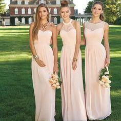 5ca2d4a8dd58 Hermosas damas de honor!!! Colorea innovadores 2017...  mujer  . Abito  Turchese Damigella D onoreDamigelle ...