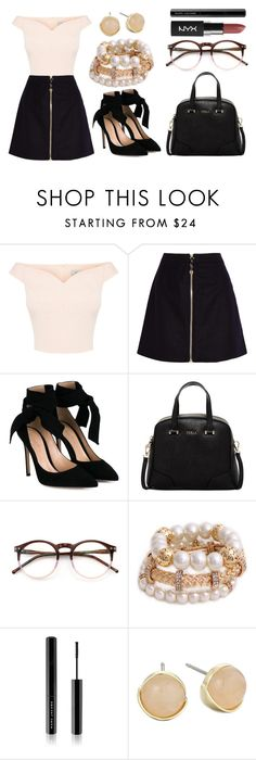 """Untitled #253"" by jasmine-abdallah on Polyvore featuring Acne Studios, Gianvito Rossi, Furla, Wildfox, Marc Jacobs and Cole Haan"