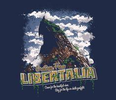 Greetings from Libertalia TEE BY RUSTENICO