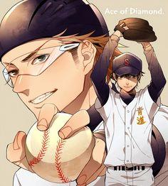 Sawamura Eijun and Miyuki Kazuya, Diamond no Ace