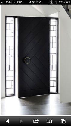 Front door design