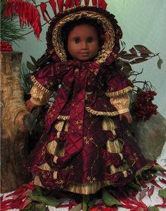 Empress' Secret Closet - Christmas Promenade Ensemble with open cut work design by Magalie at MHD Designs via eBay