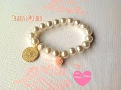 Bracelet Dearest Mother by 2MoonsintheSky on Etsy