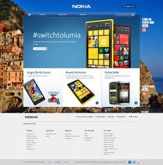 Nokia Web Design, App, Design Web, Apps, Website Designs, Site Design