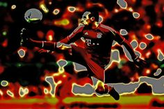 09de4faa9a38 Franck Ribery Poster by Brian Reaves