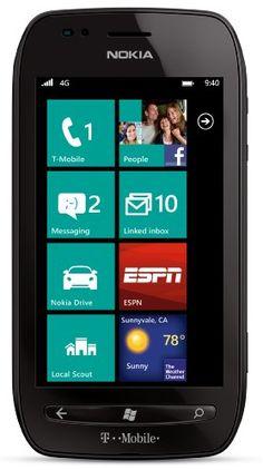 Nokia Lumia 710 4G Windows Phone Mi actual teléfono, y no envidio en nada al Iphone.