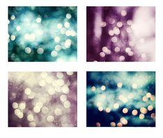Bokeh Lights Photo Set sparkle photography by CarolynCochrane, $48.00