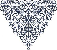 slovenský folklór s.r.o - SKOMBINUJ SI SÁM - VÝŠIVKY - Výšivka Liptov4, 22x20 cm
