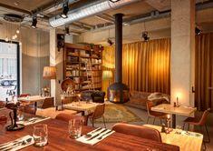 Restaurant The Lobby Nesplein Restaurant & Bar (Hotel V) in Amsterdam - Recensies | iens.nl - Waar gaan we eten?