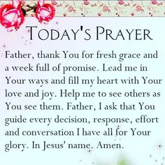 Prayer Scriptures, Bible Prayers, Faith Prayer, God Prayer, Prayer Quotes, Power Of Prayer, Bible Verses Quotes, Faith In God, Faith Quotes