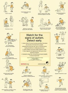 Autism Signs... Because early intervention can make a world of difference. Repinned by SOS Inc. Resources pinterest.com/sostherapy/.