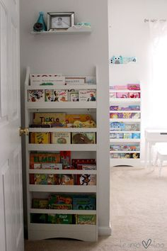 Book storage in a nursery