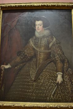 Queen Isabella of Spain, Diego Velazquez and Workshop Queen Isabella Of Spain, Female Portrait, Museum, Workshop, Portraits, Painting, Women, Art, Vienna